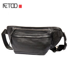 Aetoo tide head кожаная мужская сумка из воловьей кожи Многофункциональная