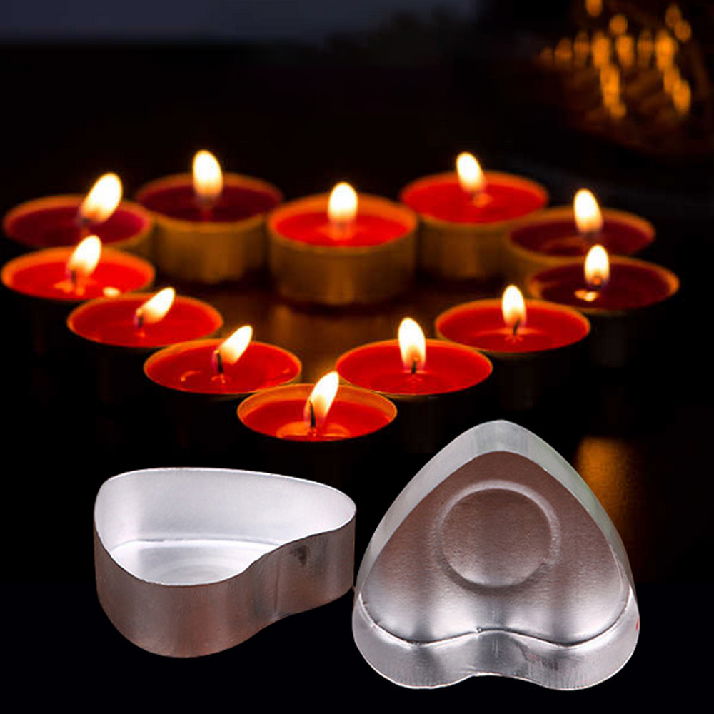10pcs Clear Butterfly Tealight Cup Empty Candle Mold 200pcs Candle Wicks