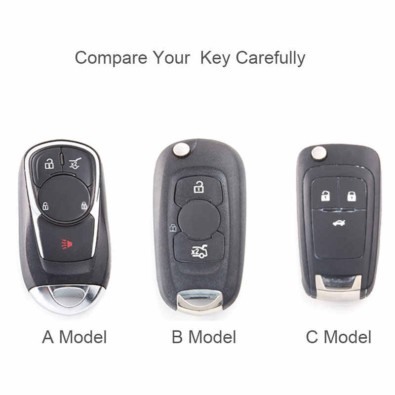 Coque de boîtier porte-clé à distance en carbone pour Chevrolet pour Buick Cruze Aveo Trax Opel Astra Corsa Meriva Zafira Antara J Protection des clés