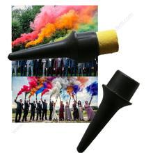 10 pçs hand held cor fumaça tocha mágica colorido truque ponta de fogo brinquedo divertido pirotecnia mágico filme de halloween fotografia prop ferramenta