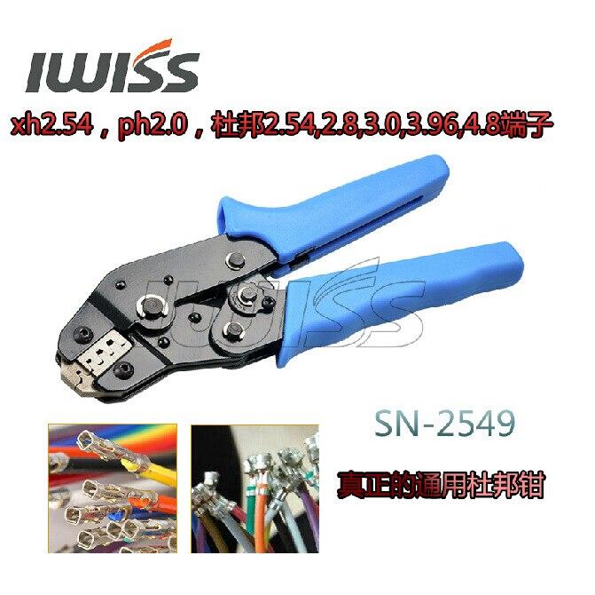 Spring Plug 54 2549 Pliers 3 0 SN 96  Crimper 2 Crimping 8 Crimping 4 3 8 Tools Terminal Xh2 SN28B SN01BM DuPont