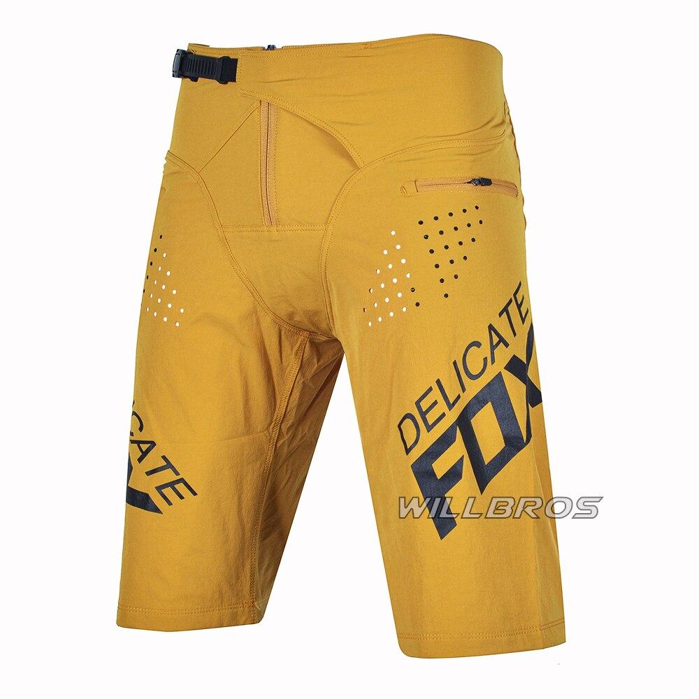 Motocross Race Delicate Fox Flexair Blue Shorts MX Dirt Bike Offroad Sport Summer Short Pants Men