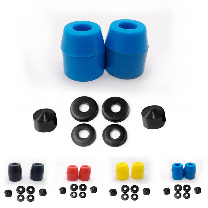 Skateboard Bushings 7 Inch PU Skateboard/Longboard Soft Bushings High-Elastic Shock-Absorbant Skate Trucks Bushings