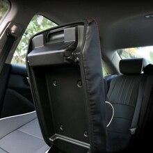 Car Armrest Box Mat Center Surface Case For Honda Accord 2018-2019 Waterproof 1pcs Black Hot