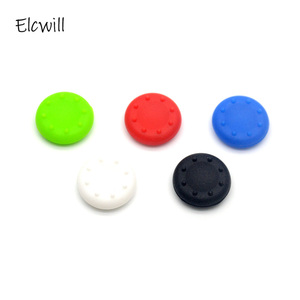 2Pcs Silicone Controller Joystick Thumb Stick Grip Cap Case Cover for PlayStation 4 PS4 PS3 PS2 PS 4 PS 3 PS 2 Xbox 360 One Game(China)