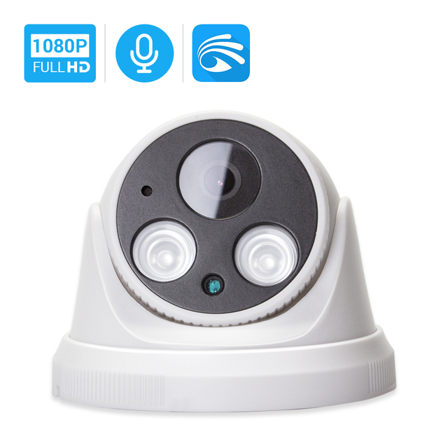 Hamrolte Wifi Camera HD1080P Yoosee Wireless Indoor Onvif Camera Nightvision Motion Detection RSTP Internal Microphone TF Slot