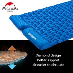 Image 4 - Natureigh tapis de Camping dextérieur ultraléger, Portable et avec oreiller, gonflable Double, sac de couchage résistant à lhumidité