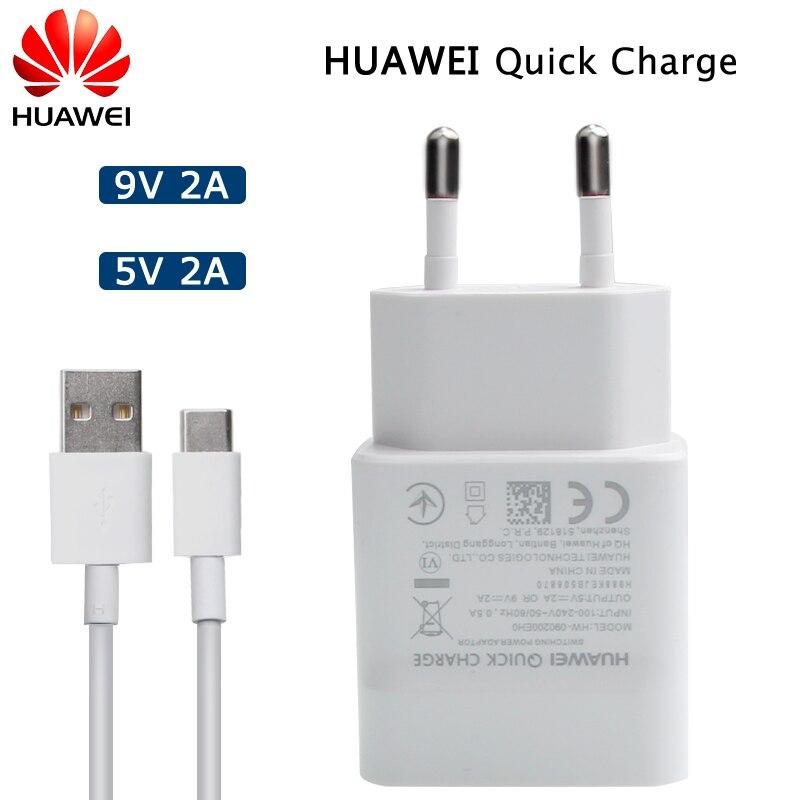 US $4.59 20% OFF Huawei oryginalny QC 2.0 szybka ładowarka Micro type c kabel USB dla Huawei P8 P9 Plus Lite Honor 8 9 Mate 8 10 Nova 2 2i 3