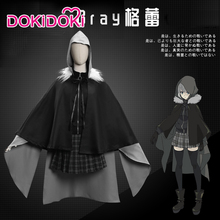 DokiDoki Anime Coslay Lord El-Melloi II Case Files: Rail Zeppelin Grace Note Gray  Cosplay Costume Women Halloween