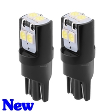 2PCS New T10 W5W High Quality 3030 LED Car Parking Lights Interior Reading Dome Lamp WY5W 168 194 2825 Auto Wedge Turn Side Bulb