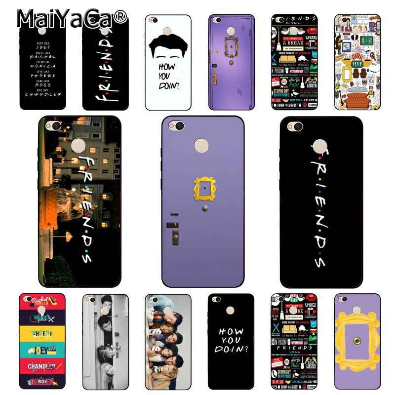 MaiYaCa Hot Friends Tv show door Phone Case for Xiaomi mi5 6 A1 A2 Mi9 9SE mi8lite A2 Lite F1 Mix2 2S Max2 3