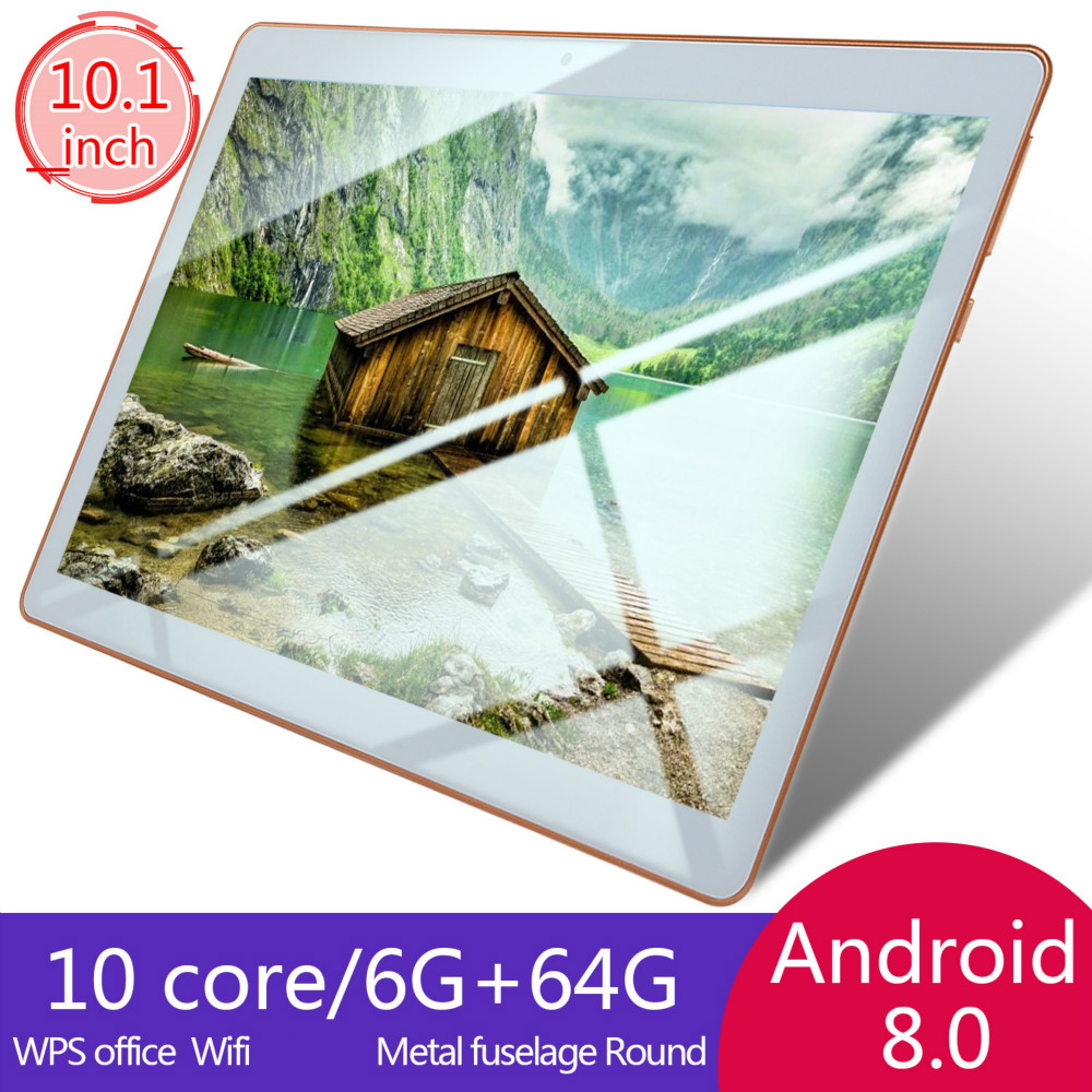 2020 Hot New 10 Inch Android 8.0 Tablet Double Card Dual Standby  6G+128GB Large Memory Smart Tablet  4G Phone Tablet PC
