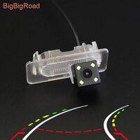 BigBigRoad Car Intelligent Dynamic Trajectory Tracks Backup Camera For Toyota Corolla E170 2014 2015 2016 2017 (Russian Version)