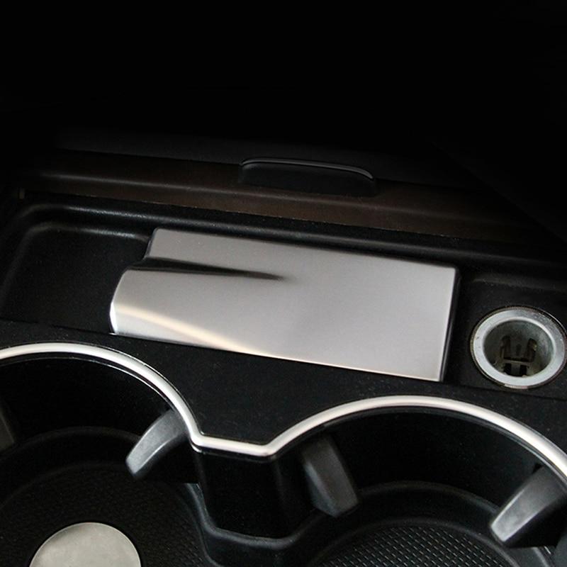 Gelinsi Per Mercedes Benz GLE ML GL GLS Auto Car Styling Supporto di Tazza Posacenere Copertura Della Pagina Trim Sticker Interni Accessori - 5