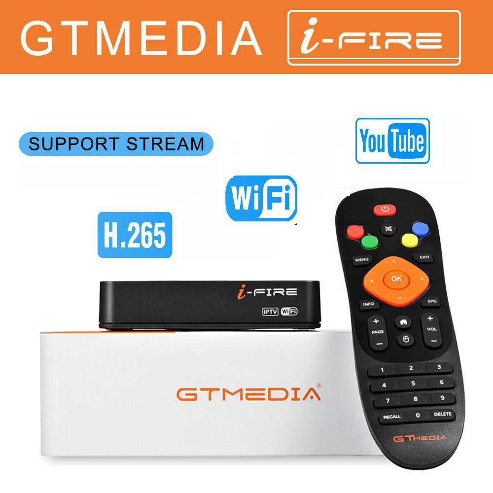 GTmedia iFire <font><b>TV</b></font> <font><b>Box</b></font> 1080P HD Europe For M3U France <font><b>UK</b></font> German Arabic Belgium Spain swedenS Poland Smart Set Top <font><b>Box</b></font> For M3u image
