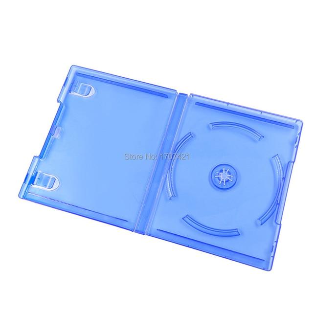 ブルー CD ディスク収納ブラケットソニーのプレイステーション 4 PS4 ゲームアクセサリーのための PS4 スリムプロゲームディスクカバーを交換してください