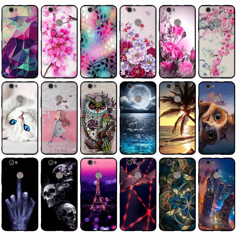"Case Cover For Huawei Nova CAN-L12 CAN-L11 CAN-L01 CAN-L02 CAN-L03 CAN-L13 CAZ-AL10 Case Cover 5.0"" Soft TPU Silicon Phone Cases"