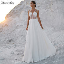 Женское свадебное платье в стиле бохо magic awn кружевное ТРАПЕЦИЕВИДНОЕ