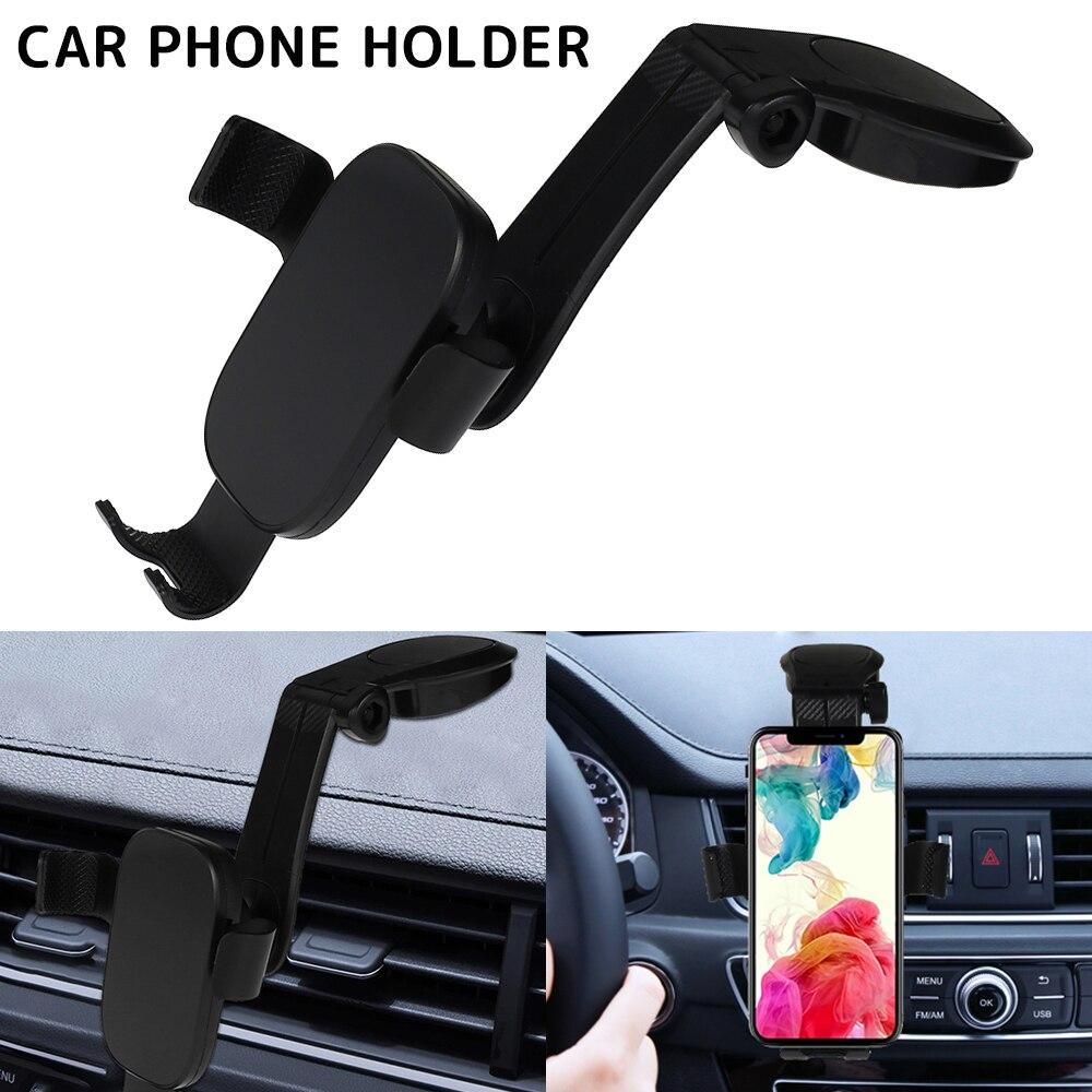 Universel 360 voiture support support Auto noir rétroviseur Rotation GPS Mobile support pour téléphone support intérieur accessoires support