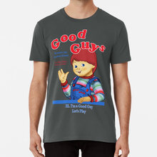 Goede Kerels T-shirt Chucky Childs Play Goeden Play Pals Speelgoed Films Film Horror Pop Juego De Ni Os chicos Buenos(China)