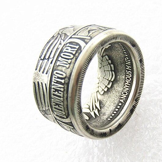 Копия мони сша мори кольцо из сплава ручной работы в размерах 8-16