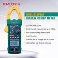 MASTECH MS2115B цифровой AC/DC клещи с 6000 счетами NCV True RMS AC/DC Напряжение тестер детектор с USB