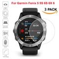 3Pcs Protective For Garmin Fenix 5 5s 6S 6X 6 Ultra Clear Tempered Glass film Guard Premium Screen Protector accessories glass
