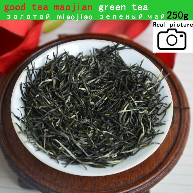 2020 New Spring Arrival Fresh Maojian Green Tea 250g Chinese Green Tea Xinyang Maojian Top Grade Weight Loss Tea Healthy