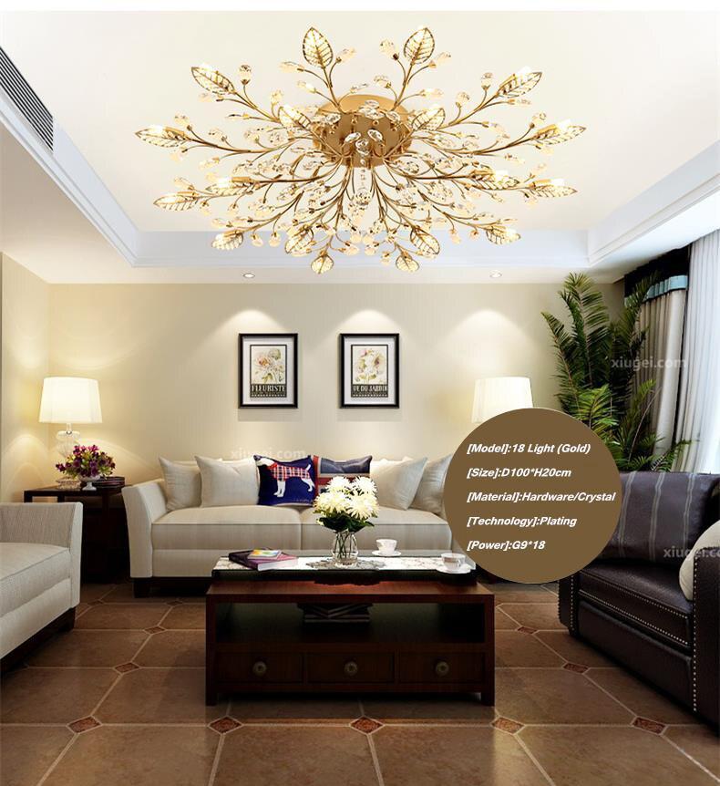 Hf728d1755c2d4c9c98f9d8cdf1a7c2489 TRAZOS New item fancy ceiling light LED Crystal ceiling lamp modern lamps for living room lights,AC110-240V DIY Crystal lighting