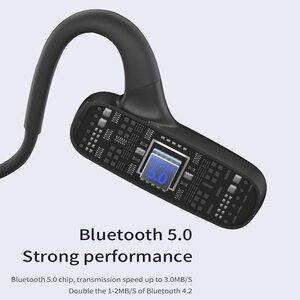 Image 5 - BGreen Bluetooth açık kulak spor bisiklet kulaklık su geçirmez spor koşu kulaklık süper hafif kablosuz Stereo yürüyüş kulaklık