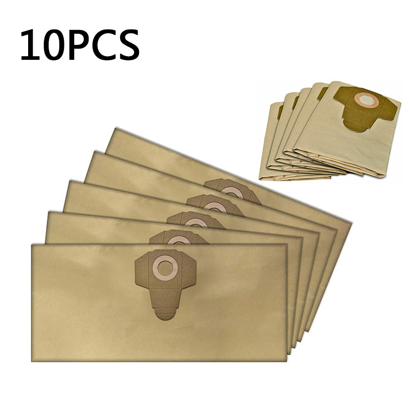 10pcs Dust Bags Parts Spare For PARKSIDE PNTS 1400 1500 Replacement Useful Trash Filter Home Cleaning Dust Bags For Home Diy