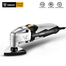 DEKO – outil multifonction oscillant électrique, scie avec accessoires, vitesse Variable, 220V, DKOM40LD1/2