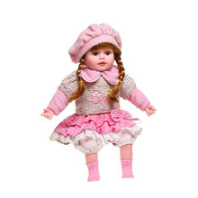 high quality toddler princess girl doll Realistic doll Silicone vinyl Lifelike Bonecas girl Toys For Children Girl Doll(China)