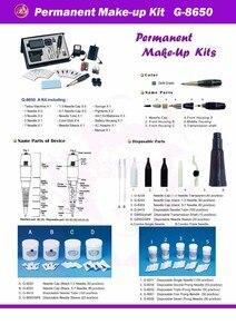 Image 4 - free shipping Battery Original Taiwan Giant sun G 8650 permanent makeup machine attoo machine Professional G8650 Tattoo gun