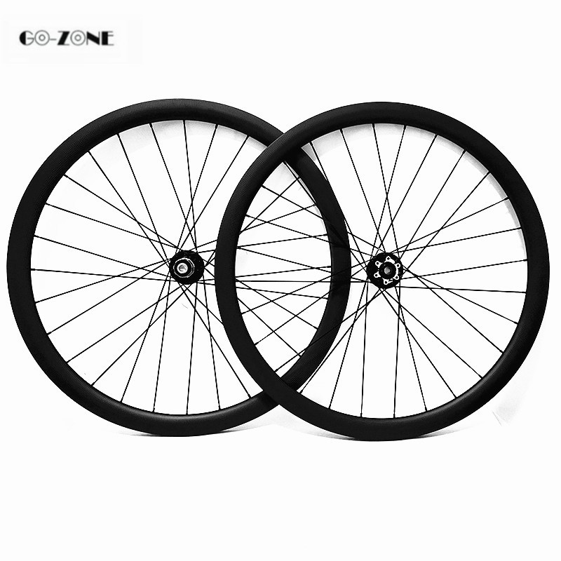 Carbon wheels disc brake 700c asymmetric 50x25mm tubular bicycle wheel Novatec D791SB D792SB 100x12 142x12 carbon wheelset