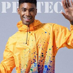 Image 5 - עמיד למים סרבל ברדס גשם סרבל עבודת בגדי אבק הוכחה ספריי צבע לשני המינים מעיל Workwear בטיחות חליפות S XXXL