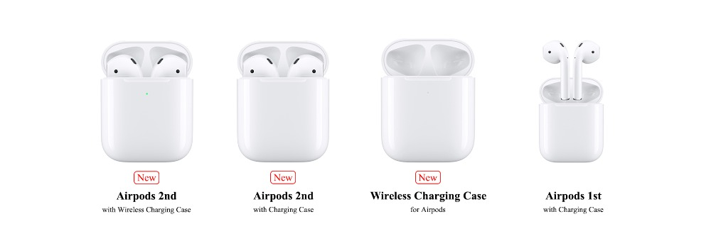 Apple Airpods 2nd Bluetooth Headphone Original Airpods With