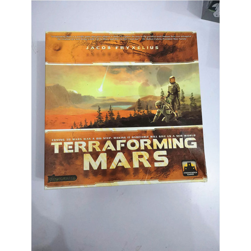 Terraforming Mars Board Game Paper Table Game Card For Adult Kids Family Party Educational Funny Gadgets Novelty Toys