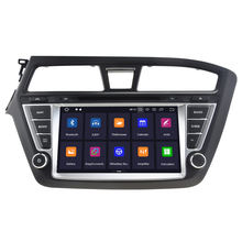 Android 9 With IPS DSP Screen For Hyundai I20 2014 2015 2016 2017 Car GPS Navigation Radio multimedia head unit player DVD(China)