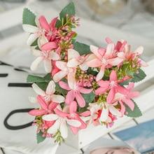 Daffodil Artificial Flower 20 heads Plastic Bouquet Floral Ornament Decoration Centerpiece