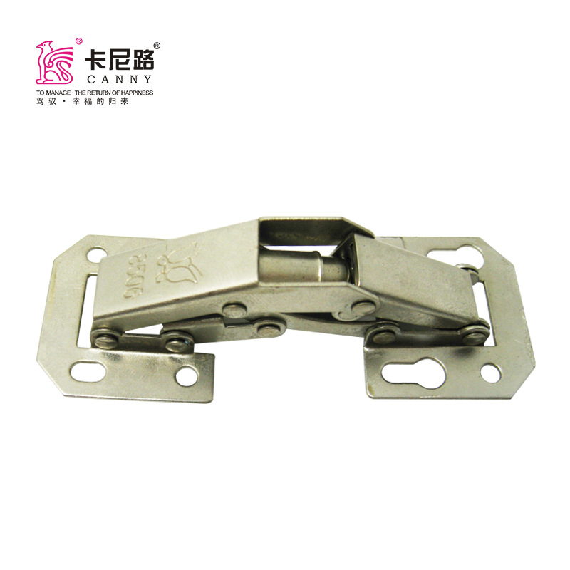Bridge Type Hinge Marbles Hydraulic Hinge Wardrobe Kitchen Cabinet Accessories Furniture Door Touch Beads Free Opening Door Hing