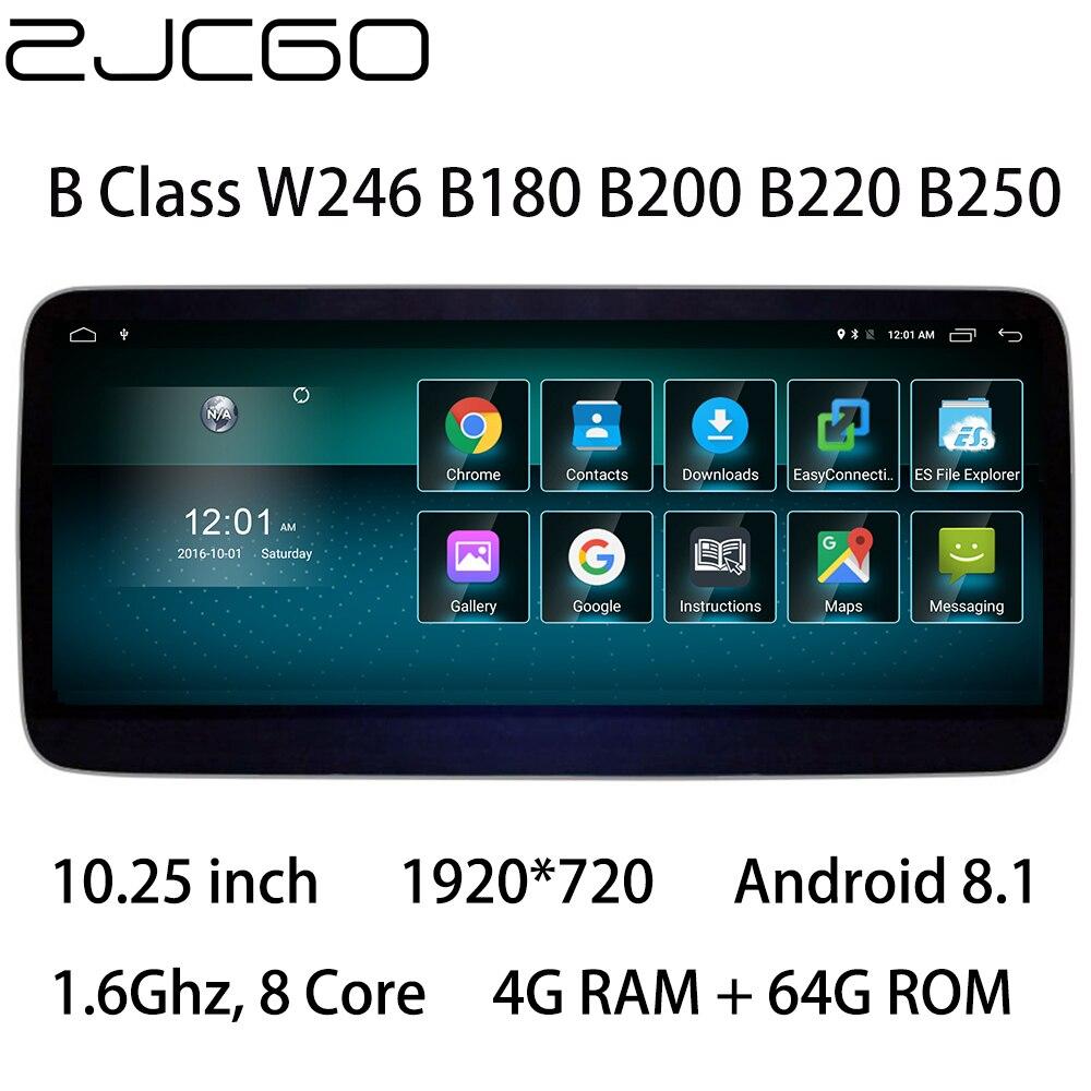 Lecteur multimédia de voiture stéréo GPS DVD Radio Navigation NAVI écran Android pour Mercedes Benz MB classe B W246 B180 B200 B220 B250