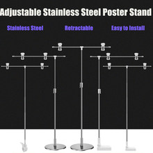 Photography Photo Backdrop Stands Adjustable T-Shape Background Frame Support System Stands With Clamps for Video Studio