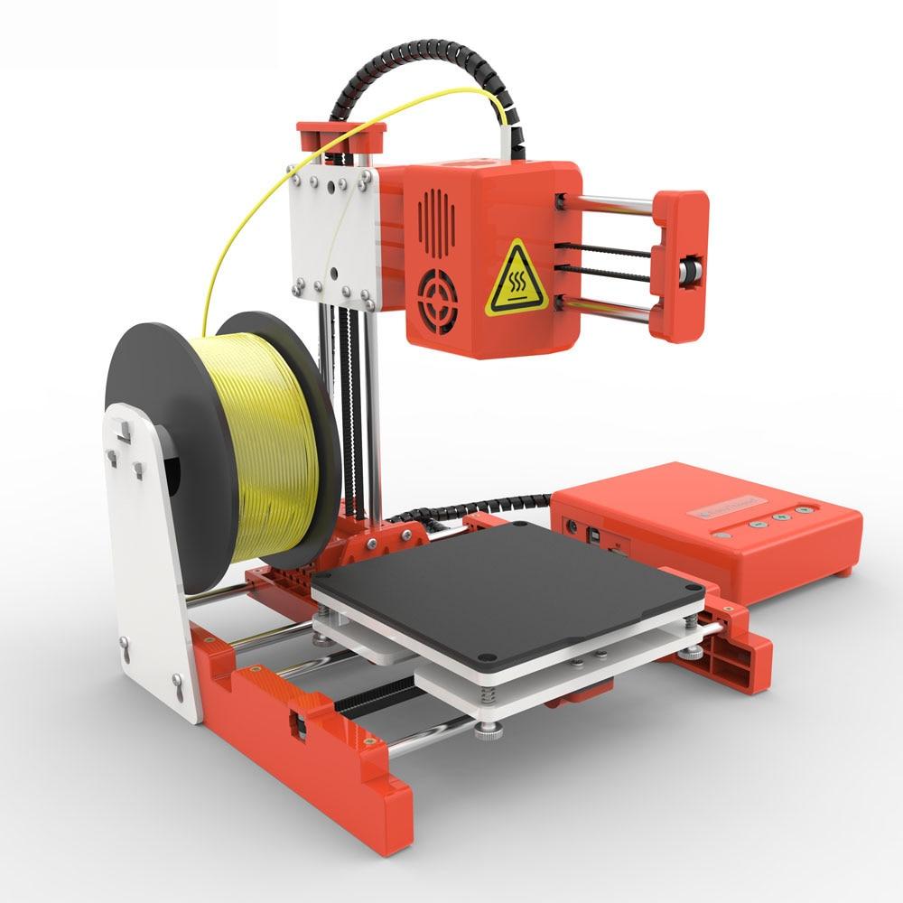 Mini Portable  Kids 3D DIY Printer for Household Education 23