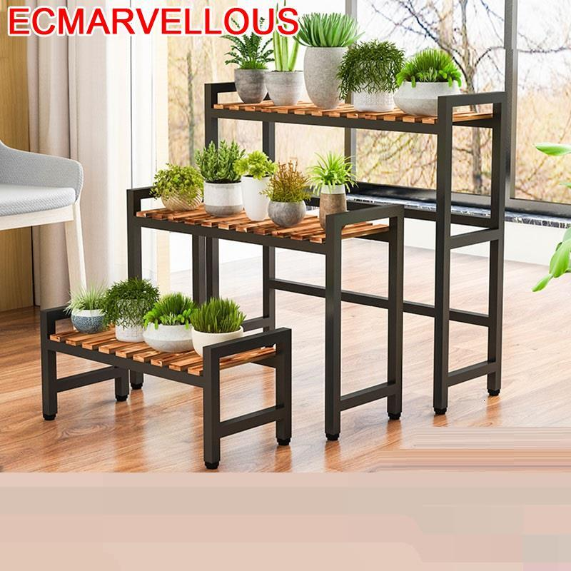 Terraza Estante Rak Bunga Macetas Para Plantas Estanteria Jardin Indoor Pot Rack Dekoration Outdoor Flower Shelf Plant Stand