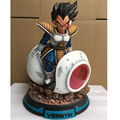 Anime Dragon Ball Vegeta IV Aircraft Super Saiyan Spaceship Christmas Gift Resin Action Model Collectible Toy Large Statue G543