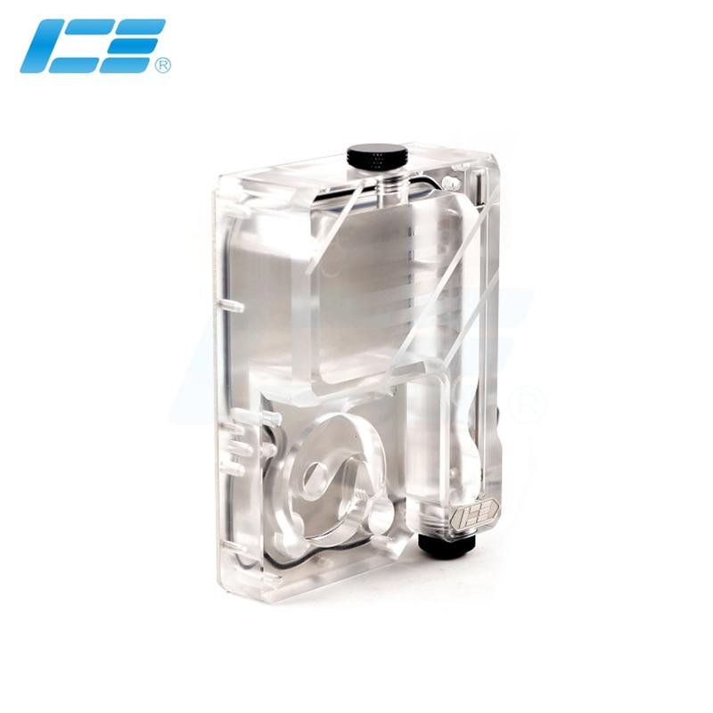 IceMan Cooler Water Tank  For Ncase M1 V4 V5 V6 Support Install DDC Pump ARGB +5V 3PIN Transparent  Reservoir