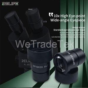 Image 4 - Relife Trinoculaire Stereo Microscoop 0.7 4.5X Continue Zoom Microscoop Met Camera Voor Telefoon Pcb Elektronische Reparatie Apparaat RL M3