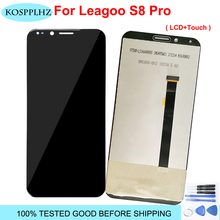 "100% Tested For LEAGOO S8 Pro LCD Display+ Touch Screen LCD Digitizer Glass Panel Replacement 5.99"" LEAGOO S8Pro +Tool +Adhesive"
