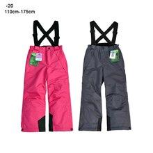 Winter Pants Kids Teenage Girl Boy Ski Overalls Trousers 10 12 years Waterproof Warm Children Outdoor Sport Clothes